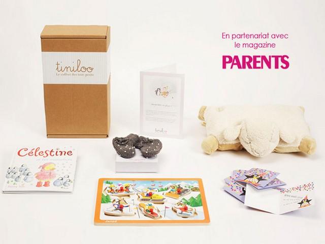 Box cadeaux de naissance