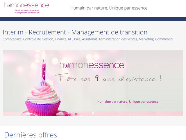 Humanessence interim Paris